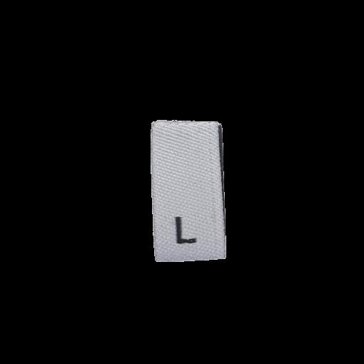 size label l large white 1