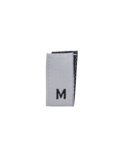 size label m medium white 1