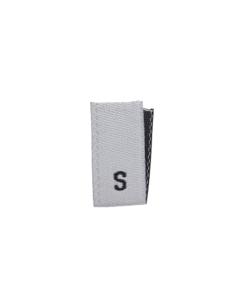 size label s white