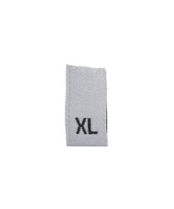size label xl extra large white