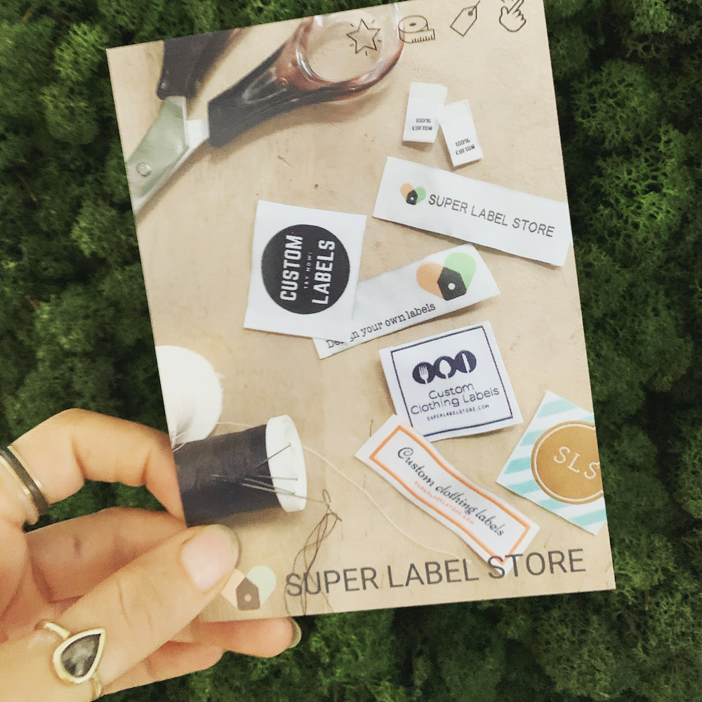 giftcard paper coupon code clothing label