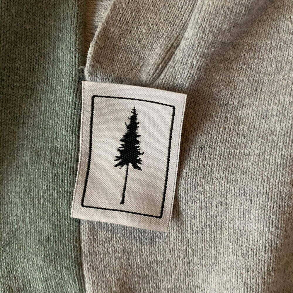 clothing label tree nature eco friendly