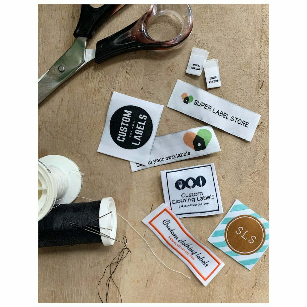 Design your own clothing label group