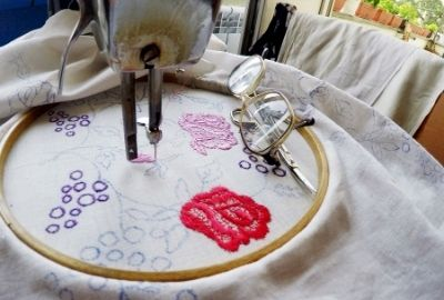 Best embroidery machine for home