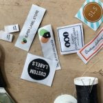 Different types of woven labels