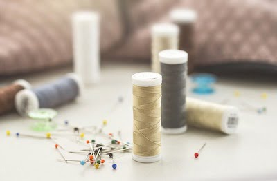 Sewing threads types and tips