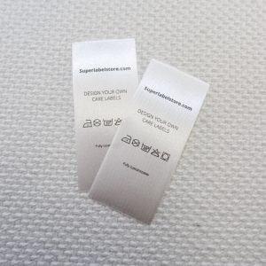 Care labels wash superlabelstore
