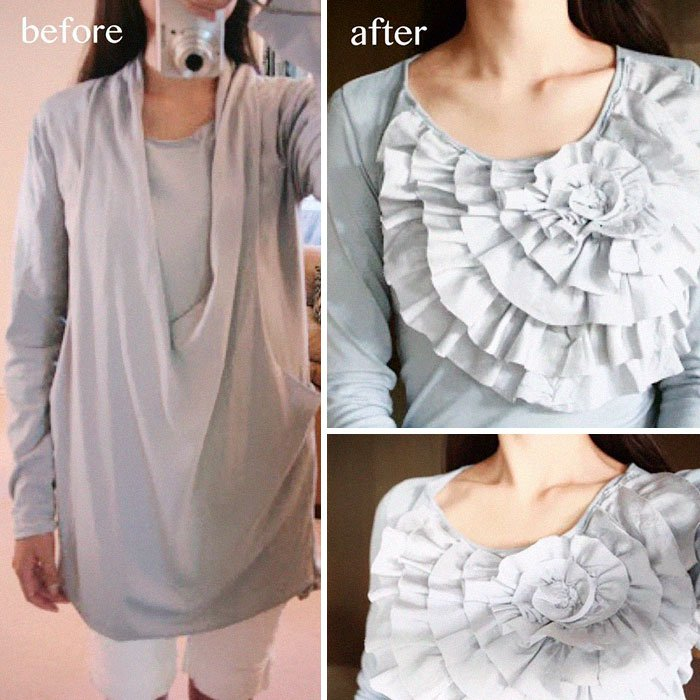 clothes upcycling ideas