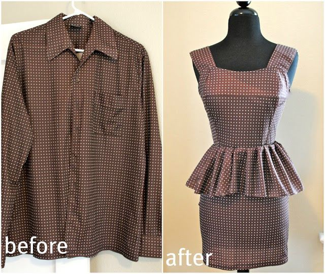 upcycling clothes example
