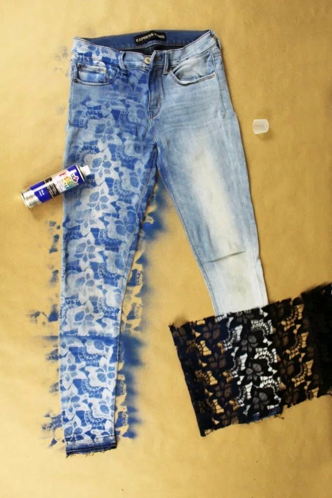 Easy diy upcycle jeans