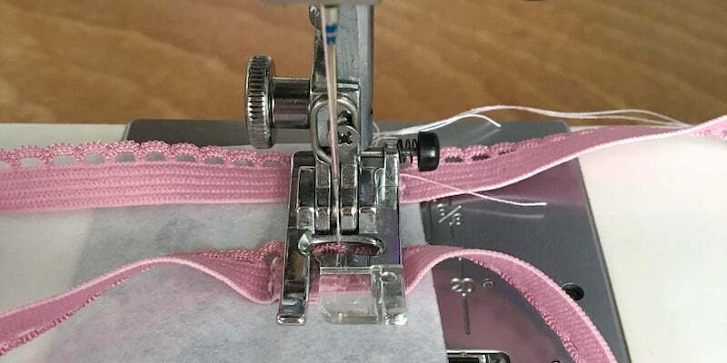 Elastic cord for sewing