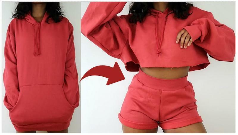 Hoodie upcycle ideas