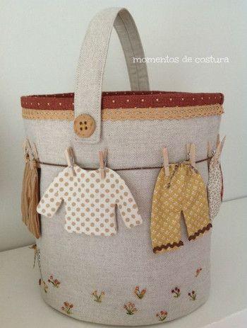Large sewing basket