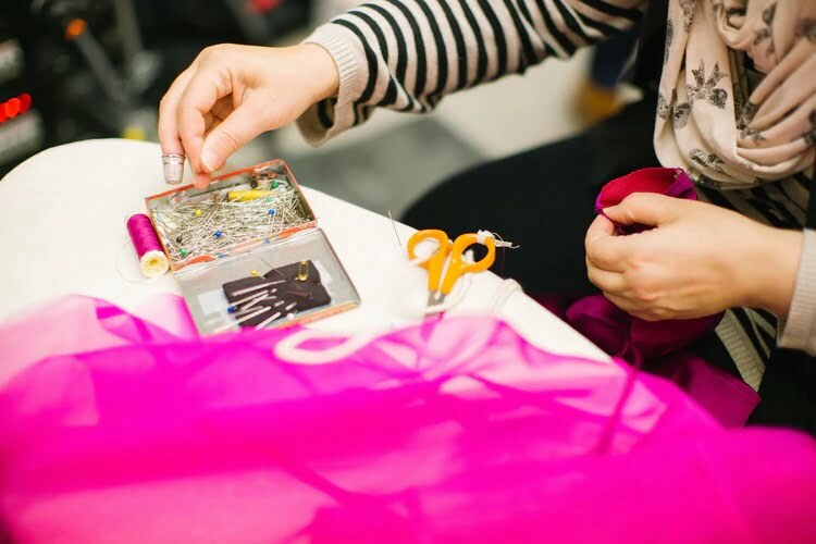 Learn to sew clothes