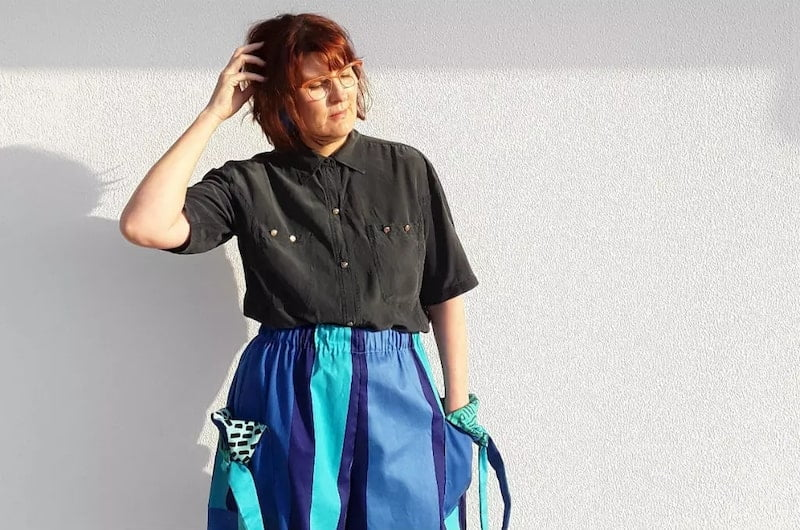 Sustainable fashion upcycling
