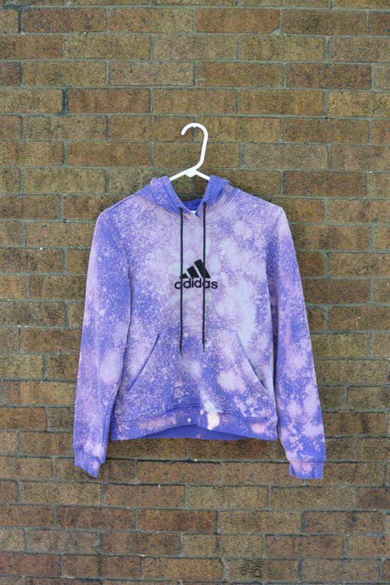 Upcycled hooded sweatshirt