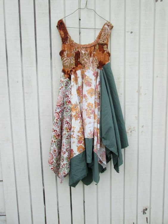 Upcycling fabric project