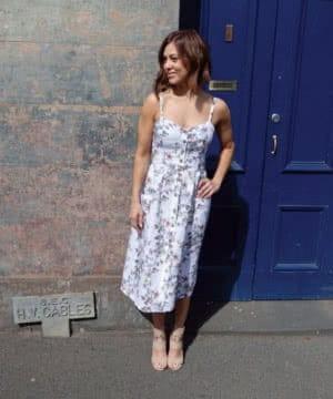 Ariana woven dress