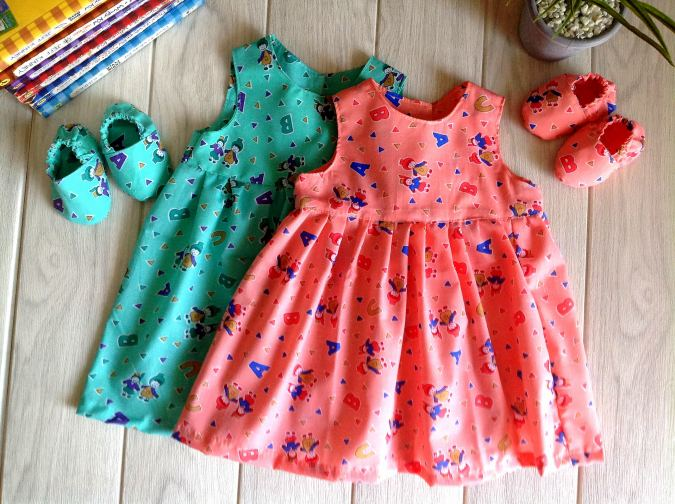 Baby girl sewing patterns