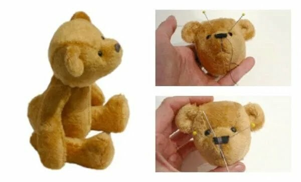 Baby teddy bear pip