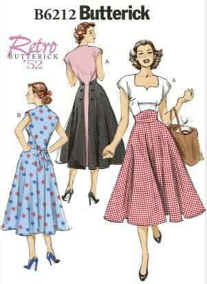 Best vintage sewing patterns