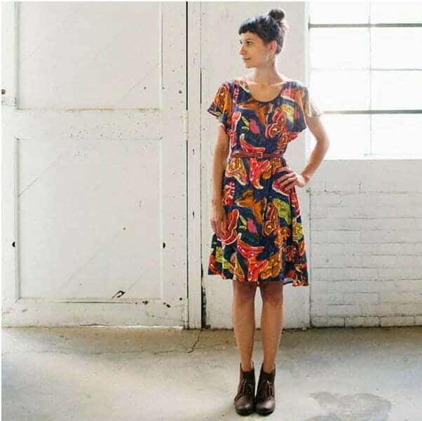Date night dress easy sewing pattern