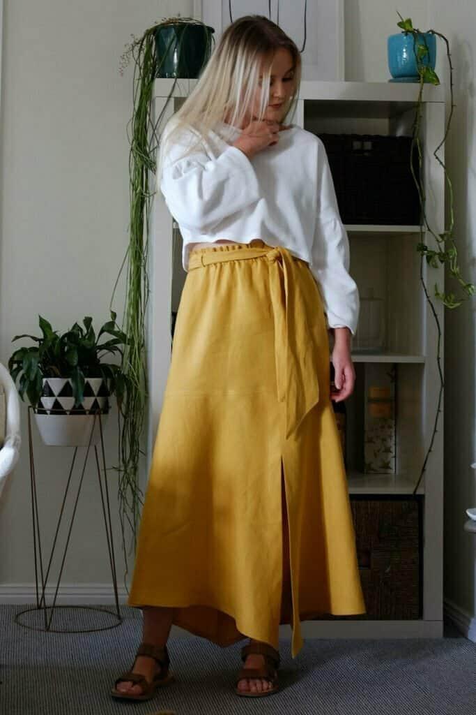 Designer skirt sewing patterns
