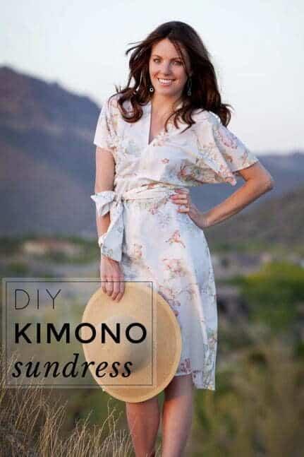 Diy kimono sundress pattern