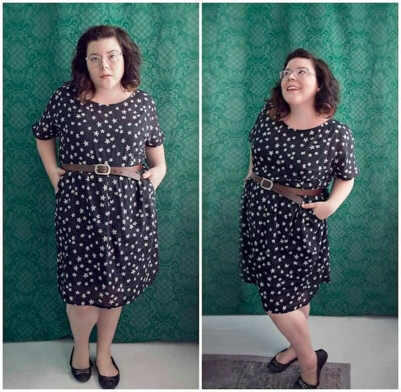 Fen dress sewing pattern