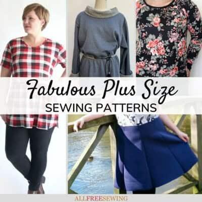 Free fabulous plus-size sewing patterns