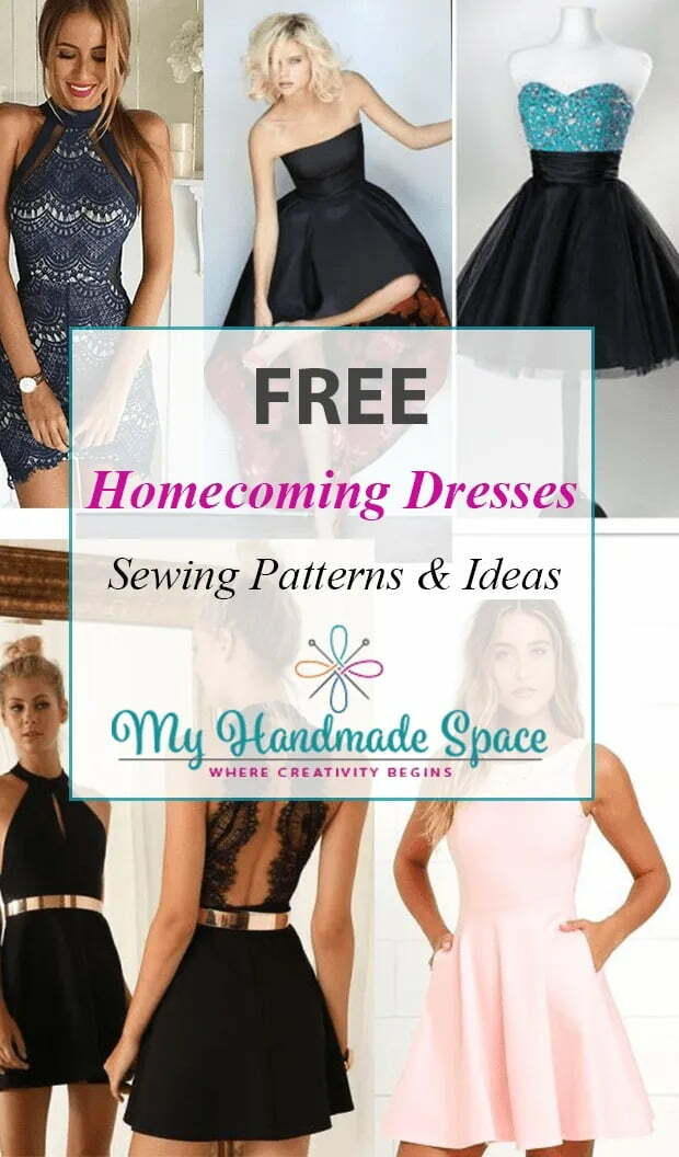 Free homecoming dresses sewing patterns