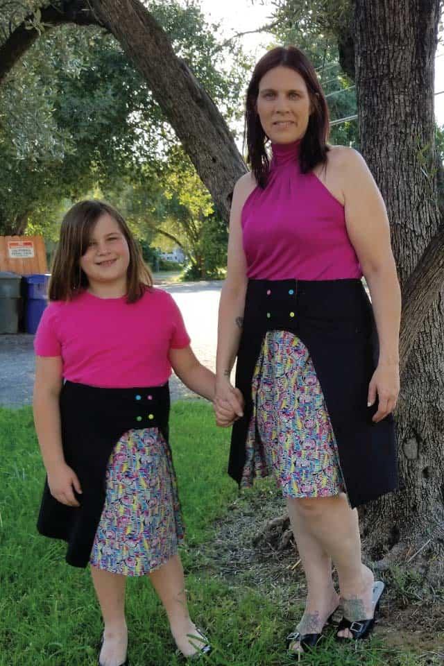 Lily wrap skirt kristen
