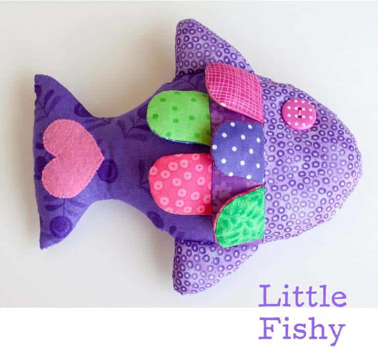 Little fishy sewing pattern