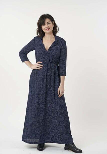 Long dress sewing pattern