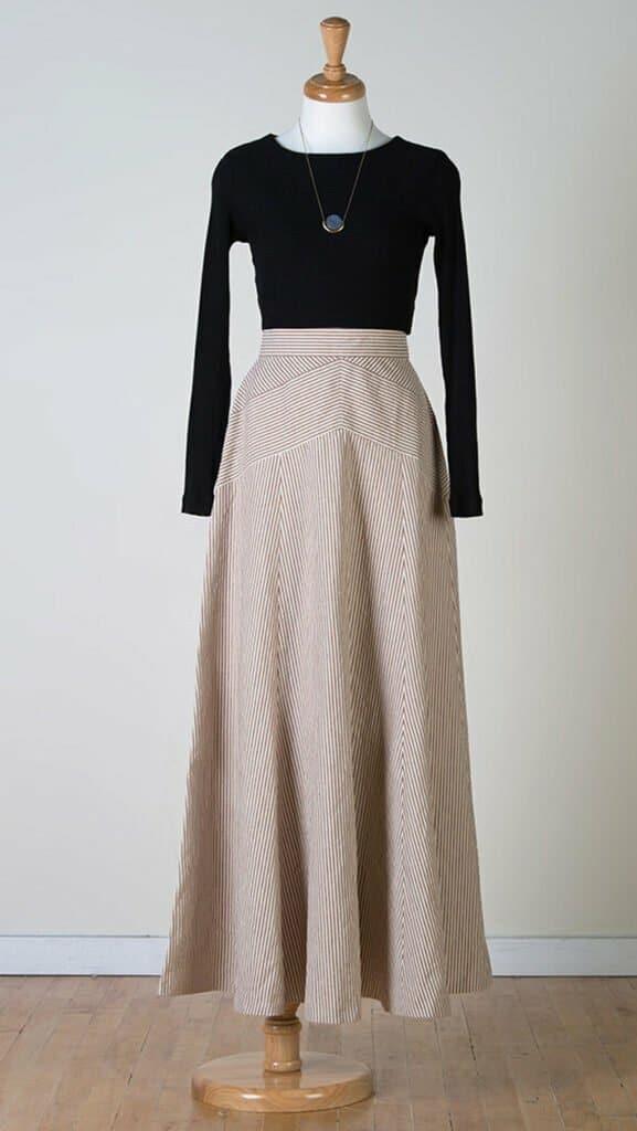 Long skirt sewing patterns