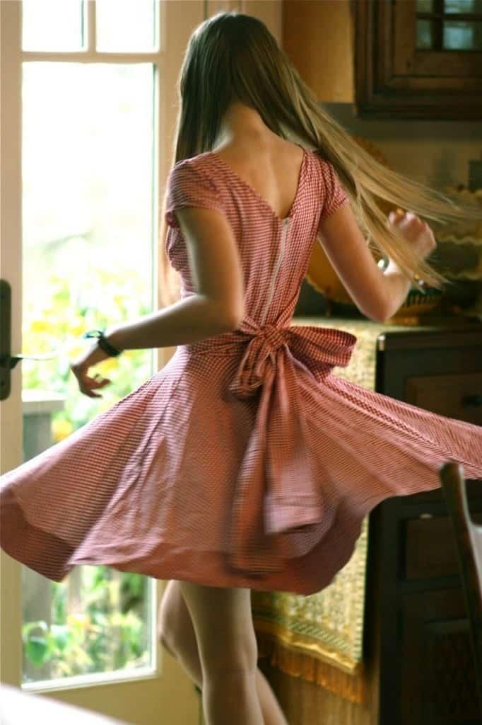 Picnic dress sewing pattern