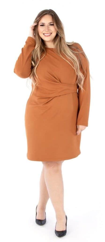 Plus-size dress sewing patterns