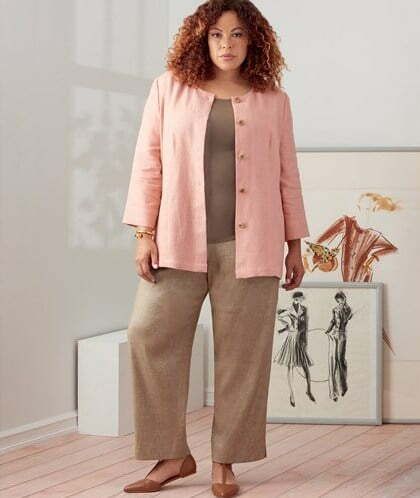 Plus-size sewing patterns for beginners