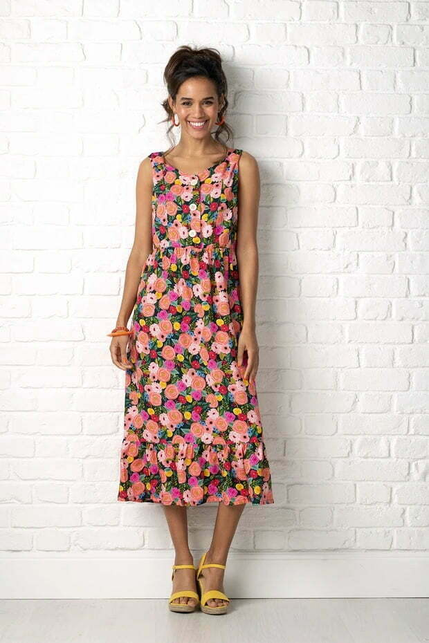Rosa dress simply sewing pattern
