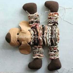 Sew yoyo plush dog