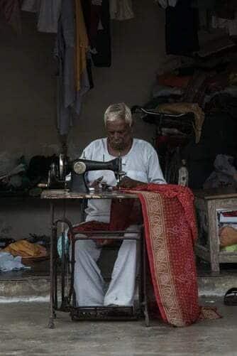 Sewing chair cushions