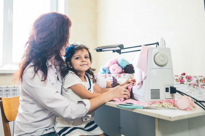 Sewing safety tips for kids