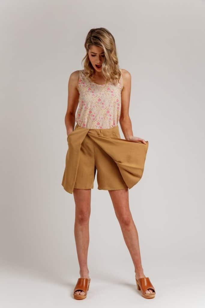 Shorts sewing patterns
