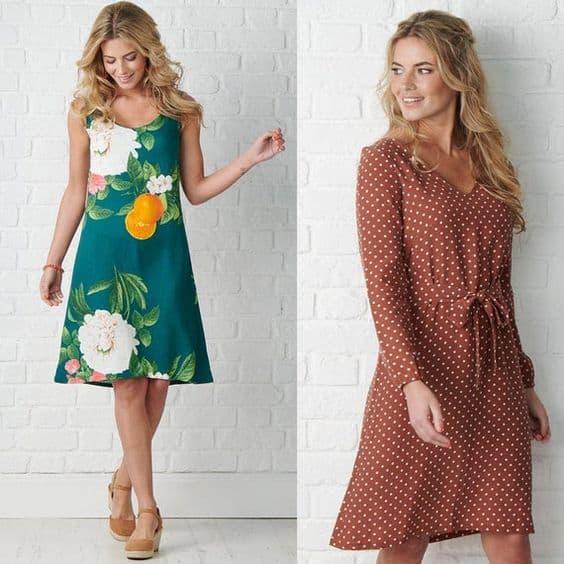 Summer dress sewing patterns