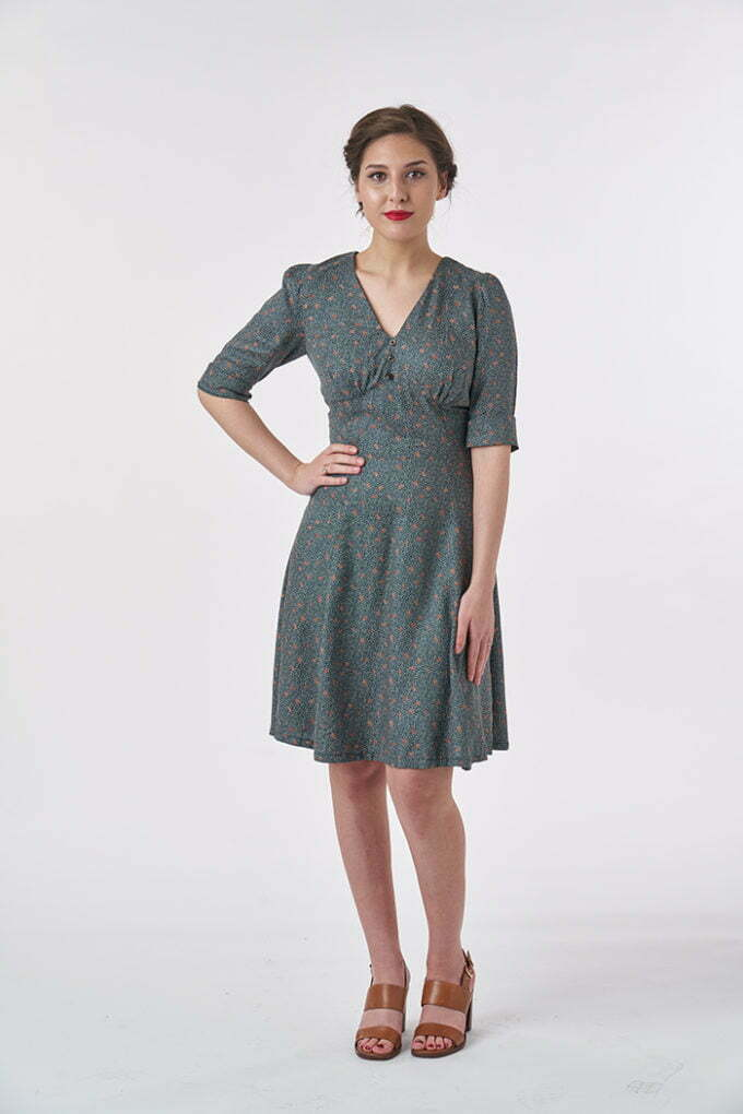 Tea dress sewing pattern