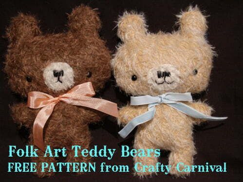 Teddy sewing patterns