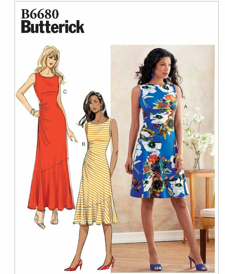 Womens clothing sewing patterns