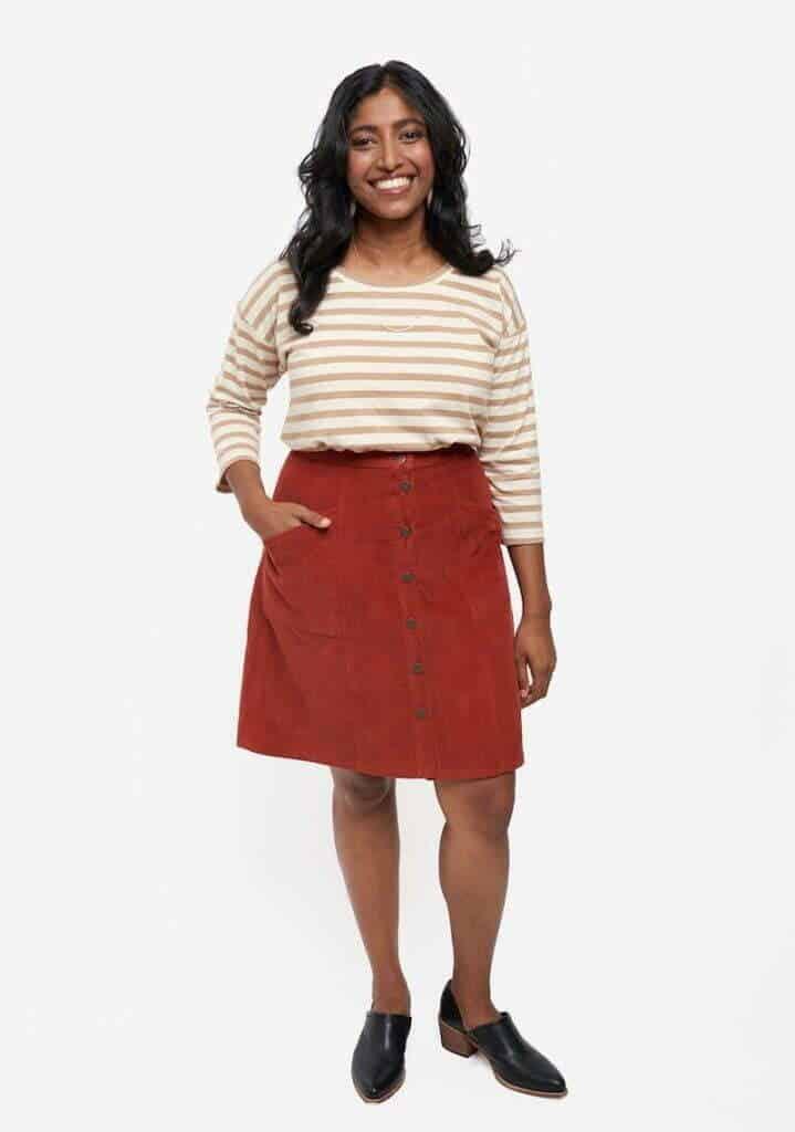 Women's skirt sewing patterns