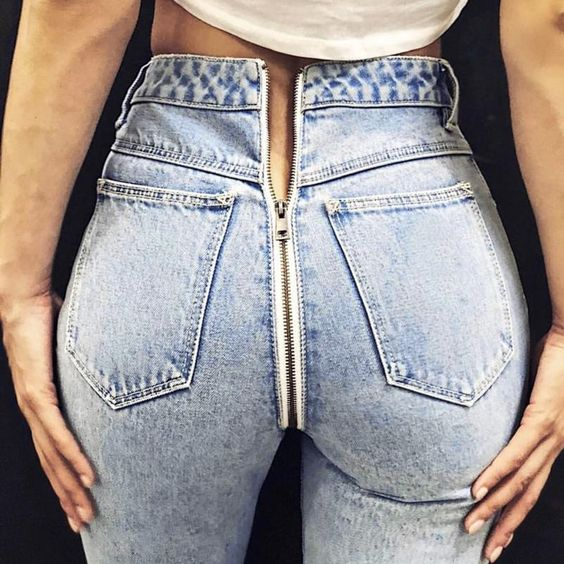 All types of jeans