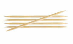 Bamboo double pointed needle for knitting